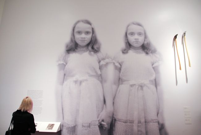 Delbert Grady's Twins from Stanley Kubrick's The Shining