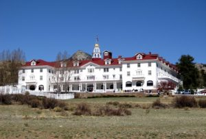 Stephen King conceived The Shining at the Stanley Hotel.
